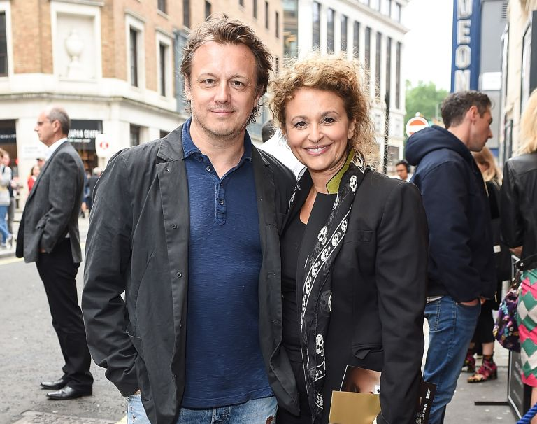 Nadia Sawalha Mark Adderley