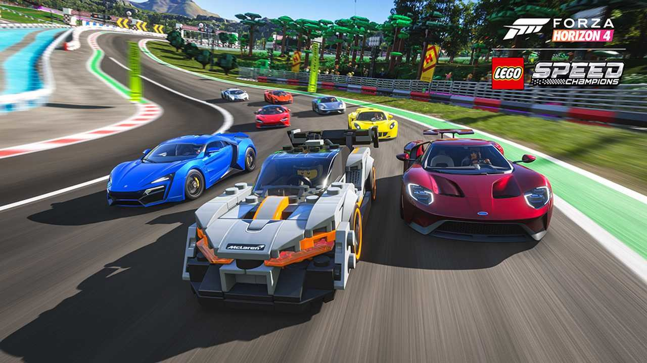The best Forza Horizon 4 cars in LEGO Speed Champions, plus