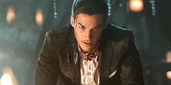 Chris Wood as Kai Parker on The Vampire Diaries