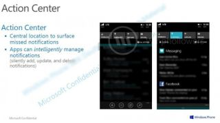 'Action Centre' may be the sweet name for Windows Phone 8.1 Notification Centre