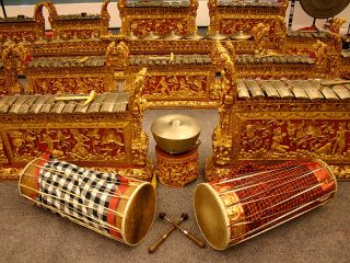 The Balinese Gamelan try fitting one of these in your spare bedroom