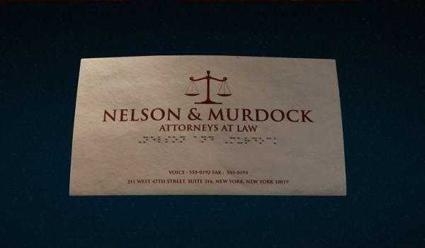 Nelson & Murdoch business card in Marvel's Spider-Man