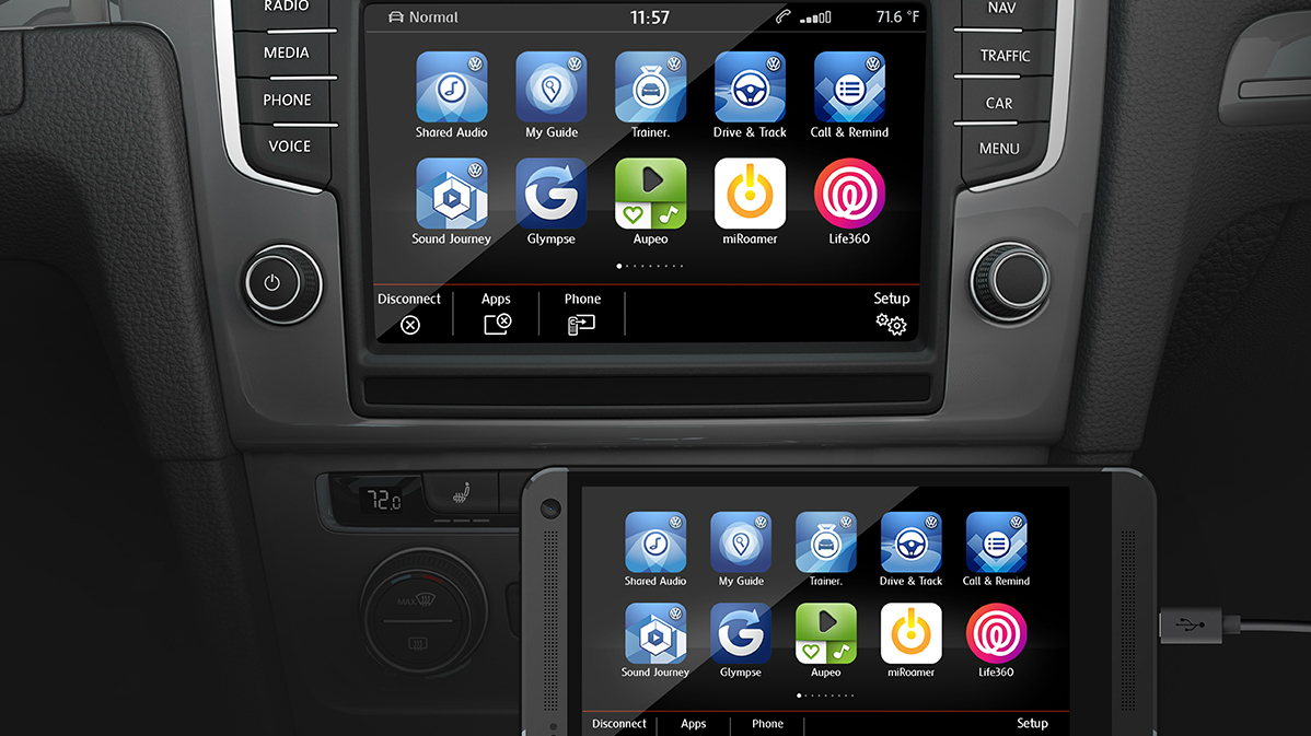 Volkswagen Will Bring Android Auto And Apple Carplay To Its New Cars