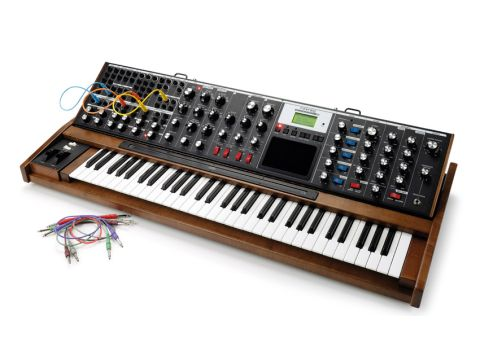 The extended keyboard makes this the most playable Minimoog yet.