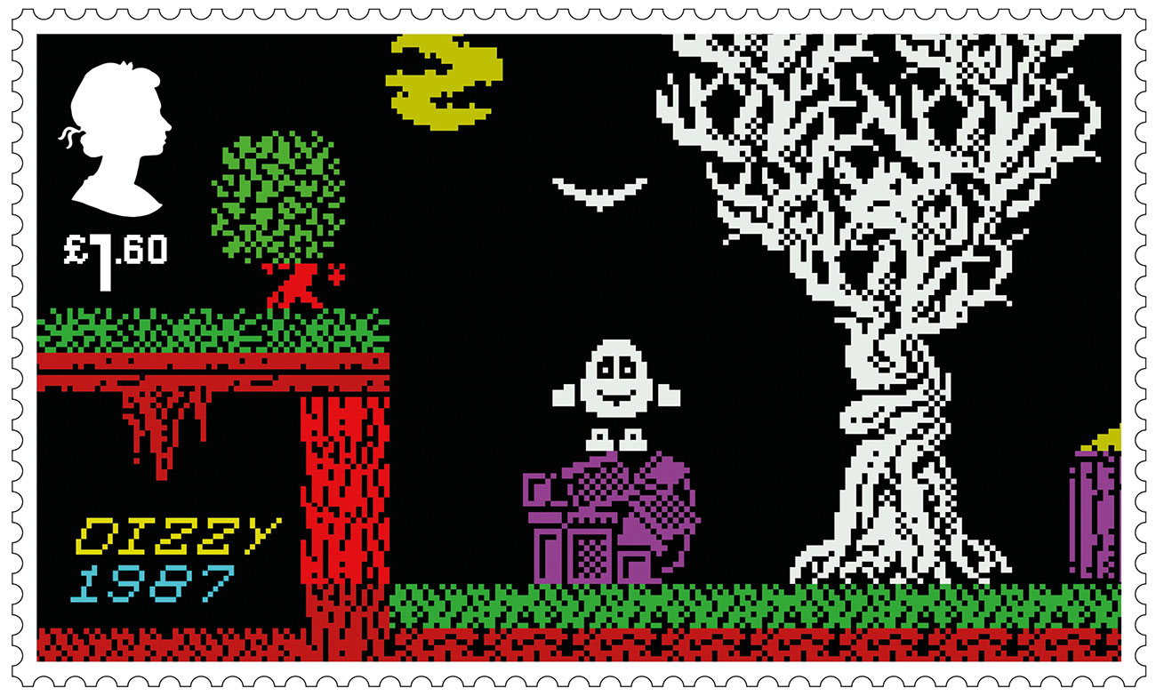 Royal Mail retro gaming stamps: Dizzy