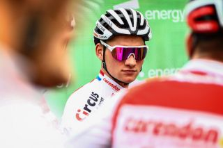 Mathieu van der Poel (Corendon-Circus) at the 2019 Tour of Britain