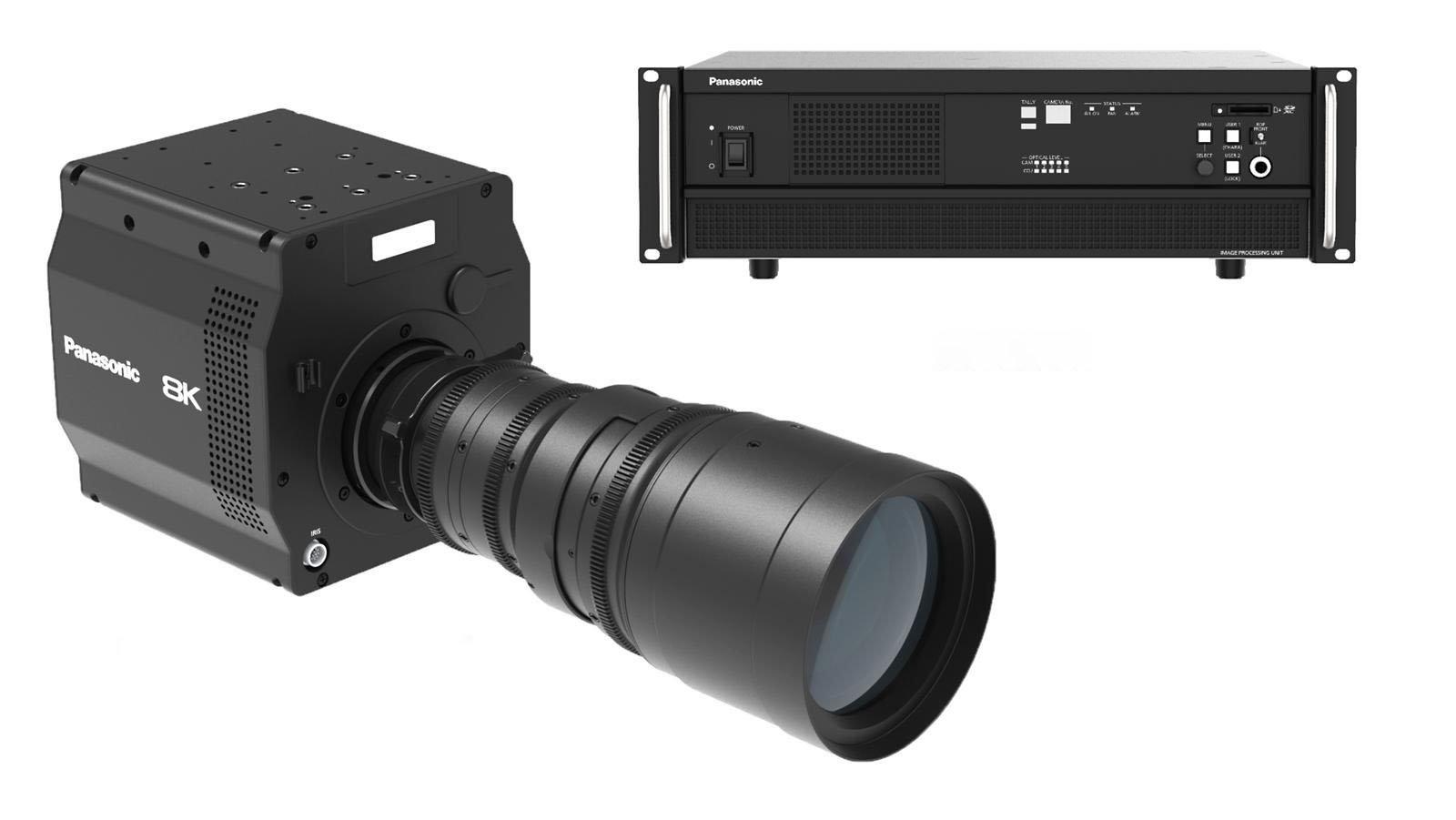Panasonic 8K camera with organic sensor