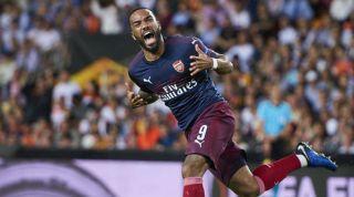 Alexandre Lacazette Arsenal Atletico Madrid