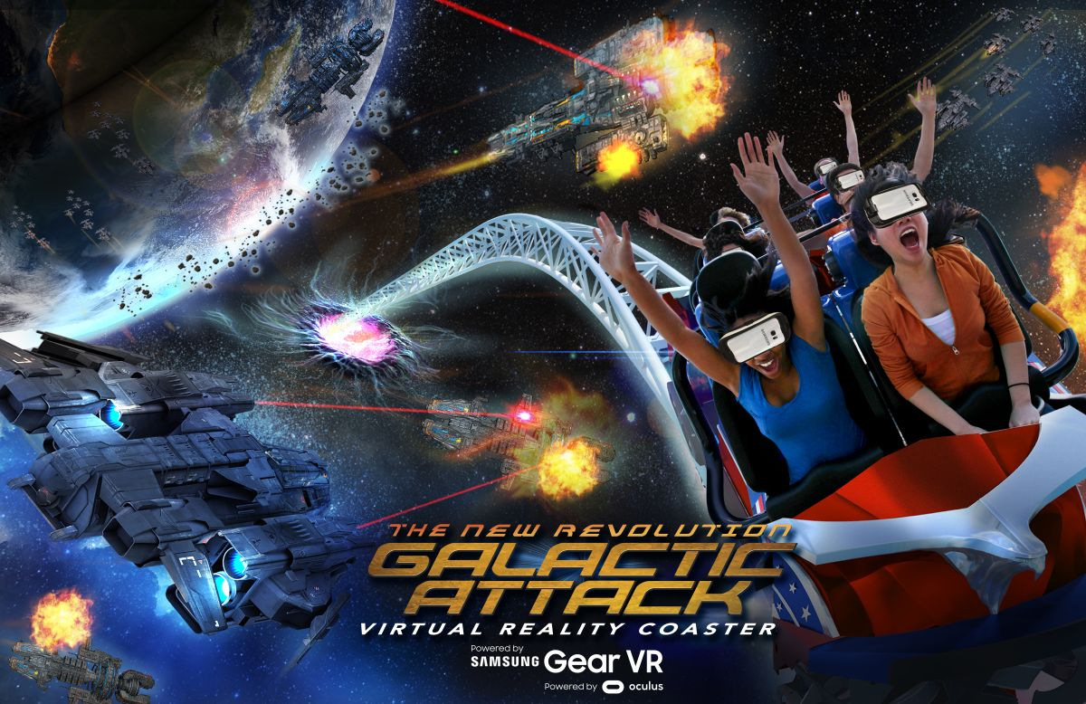 roller coasters for gear vr