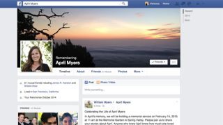 Facebook Legacy Contact memorialized