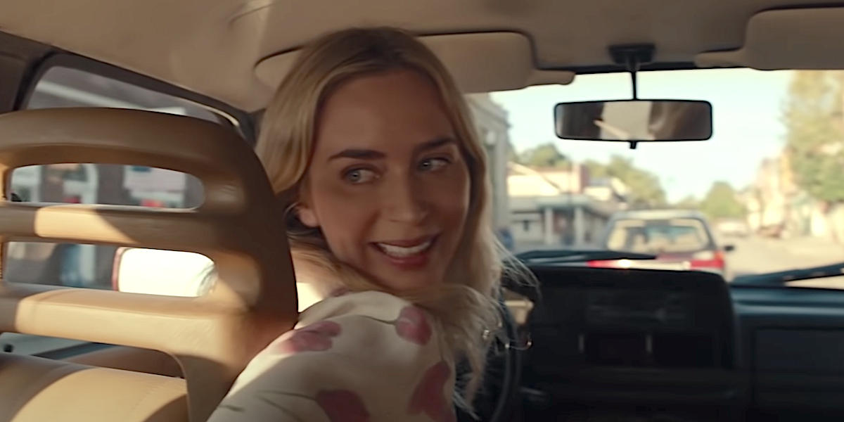 Emily Blunt's Quiet Place Part 2 Bus Stunt Was 'So Real,' John Krasinski Feared He Was 'Putting His Marriage On The Line'