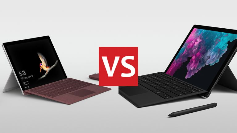 Surface Go vs Surface Pro 6