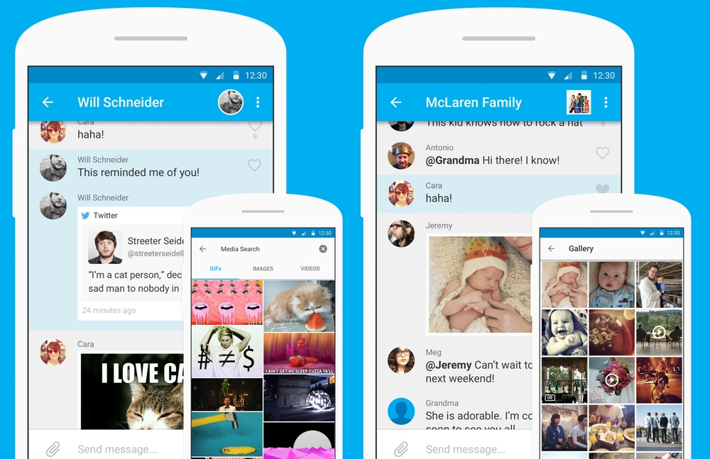 best chat apps: GroupMe