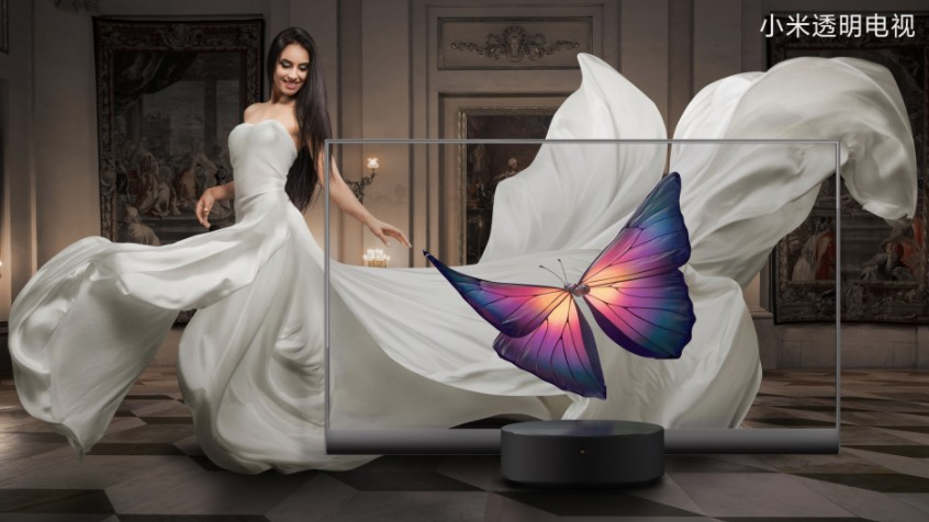 Xiaomi unveils ludicrous transparent OLED TV – and it's actually ...