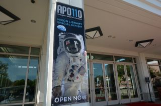 "The Richard Nixon Presidential Library and Museum has opened a new exhibit, ""Apollo 11: One Giant Leap for Mankind,"" in recognition of the 50th anniversary of the first moon landing."