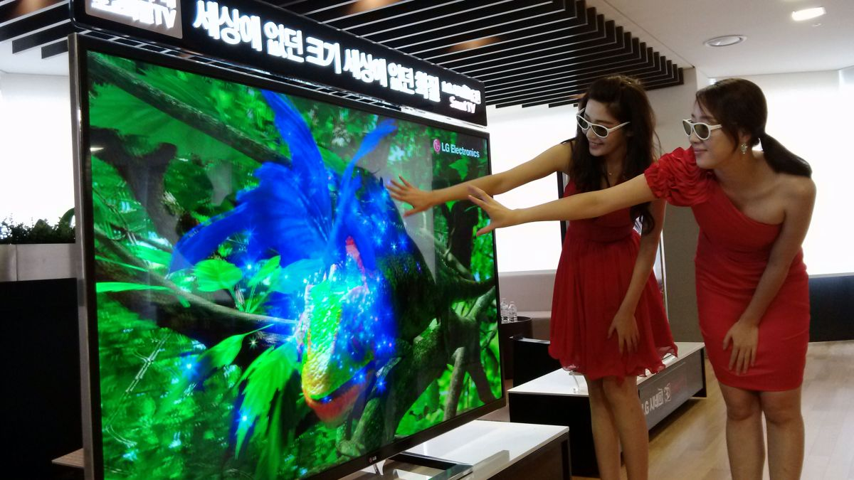 Sony wants to keep cumbersome 39 4k ultra high definition 39 name techradar - Ultra high def tv prank ...