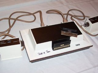 Ralph Baer designed the original videogame console - the Magnavox Odyssey