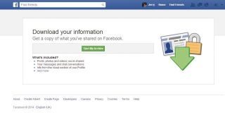How to back up your Facebook data