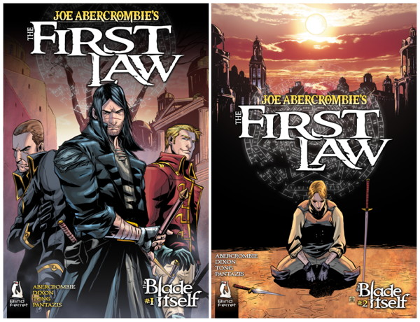 the first law novels by joe abercrombie in comic form gamesradar