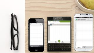 BlackBerry s Passport is the company s current flagship phone