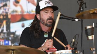 The rare performance happened at NYC's Town Hall while Grohl was promoting his memoirs