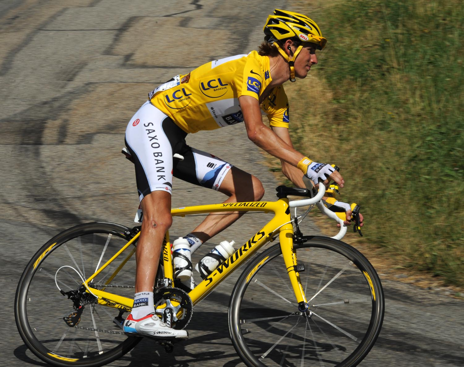 Andy Schleck, Tour de France 2010, stage 10