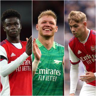 Bukayo Saka, Aaron Ramsdale and Emile Smith Rowe, l-r, help Arsenal dominate gameweek eight's picks