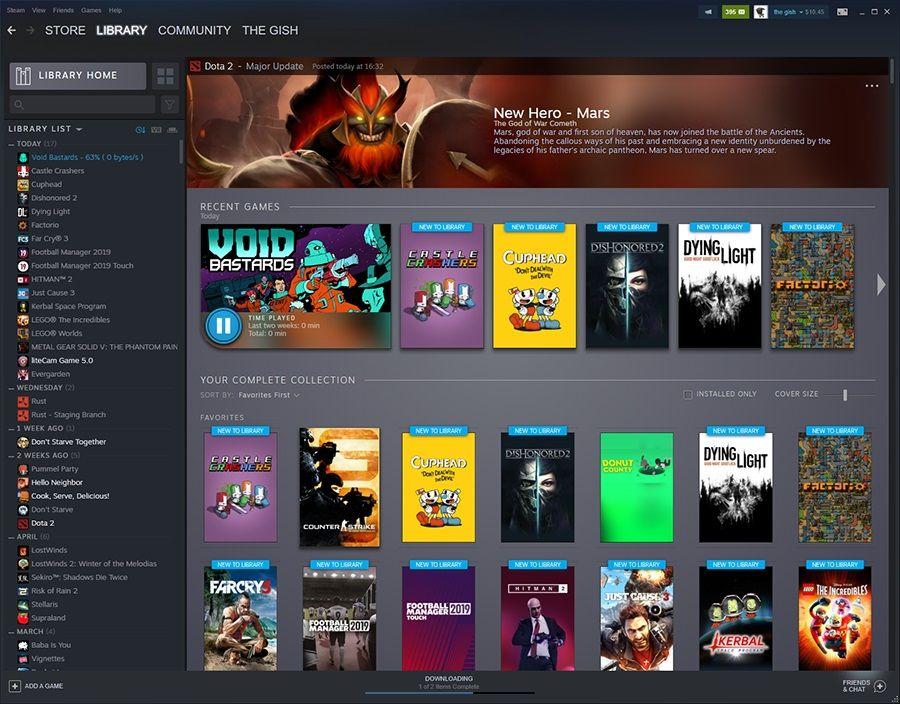 Steam Library overhaul is just weeks away   PC Gamer