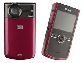 Kodak's 1080p high def pocket camcorder is out in September priced £150