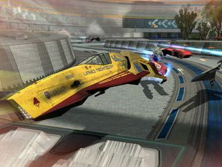 WipEout HD now with added soap powder dog biscuits and junk food