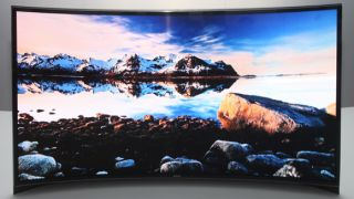 Samsung launches 55 inch curved OLED TV in South Korea