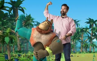Catastrophe star Rob Delaney on having a fab time in a new CBeebies series Bitz & Bob