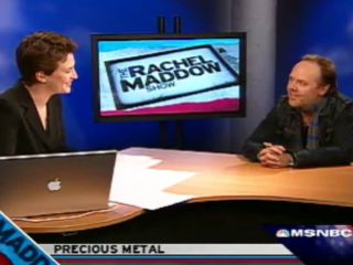 Admitted fan girl Maddow interviews Ulrich