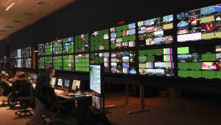 Olympics control room