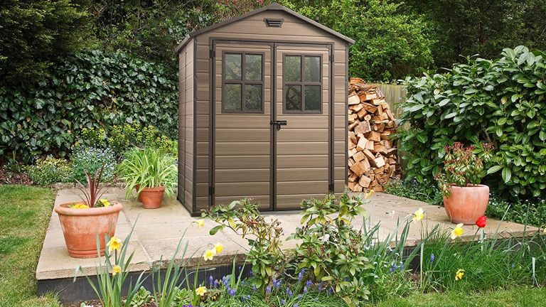 Best sheds: Keter Scala Outdoor Plastic Garden Storage Shed