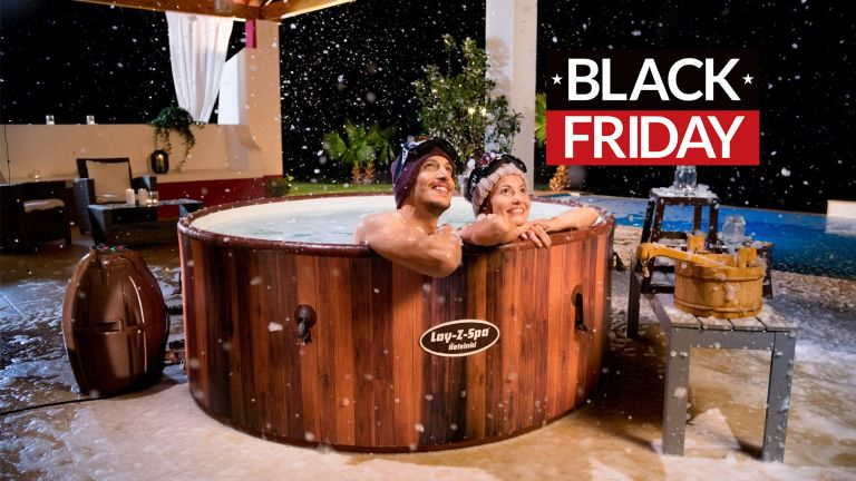 Lay Z Spa 30% off Helsinki inflatable hot tub Black Friday deal at Argos