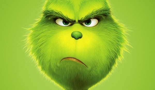 The Grinch 2018 movie funny face