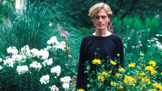 A portrait of John Foxx in the 80s
