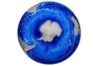 Antarctic currents