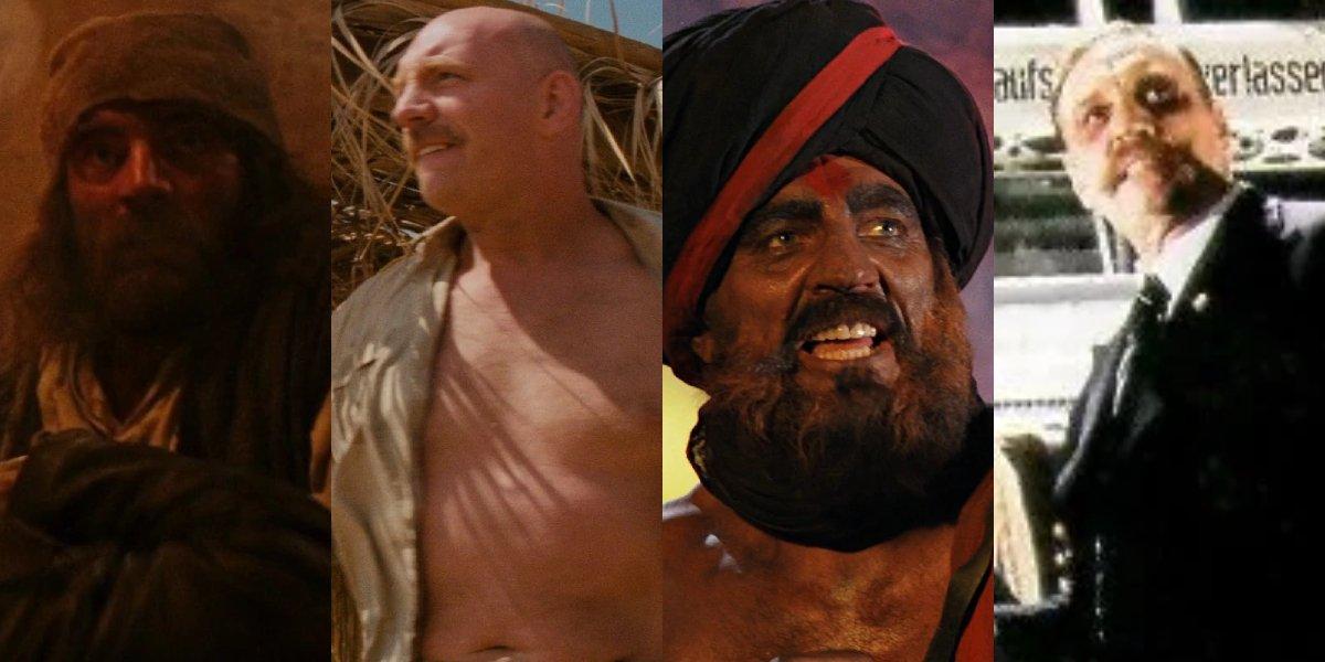 Pat Roach in the Indiana Jones movies
