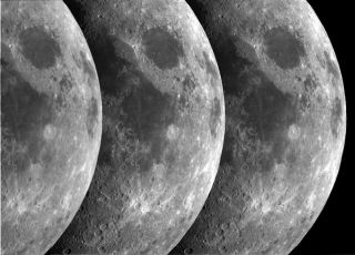 moon triptych