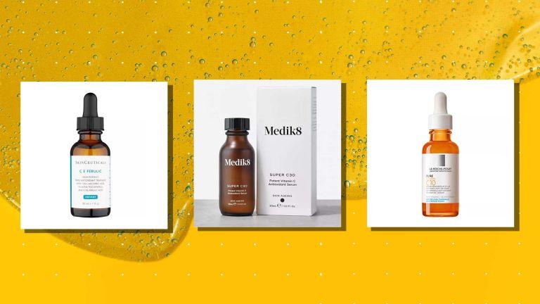 Best vitamin c serums Skinceuticals, Medik8, La Roche Posay