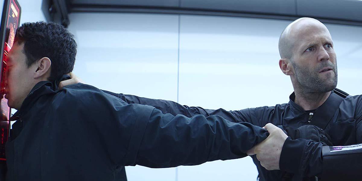 Jason Statham as Deckard Shaw in Hobbs & Shaw