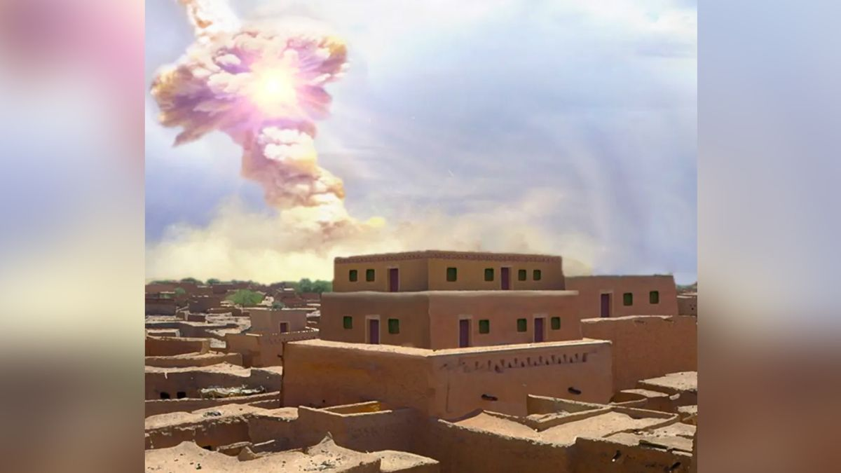 Space rock that destroyed ancient city may have inspired biblical story of Sodom