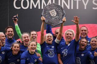 Chelsea Women v Manchester City Women – Women's Community Shield – Wembley Stadium