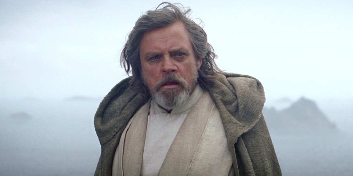 Mark Hamill in The Force Awakens