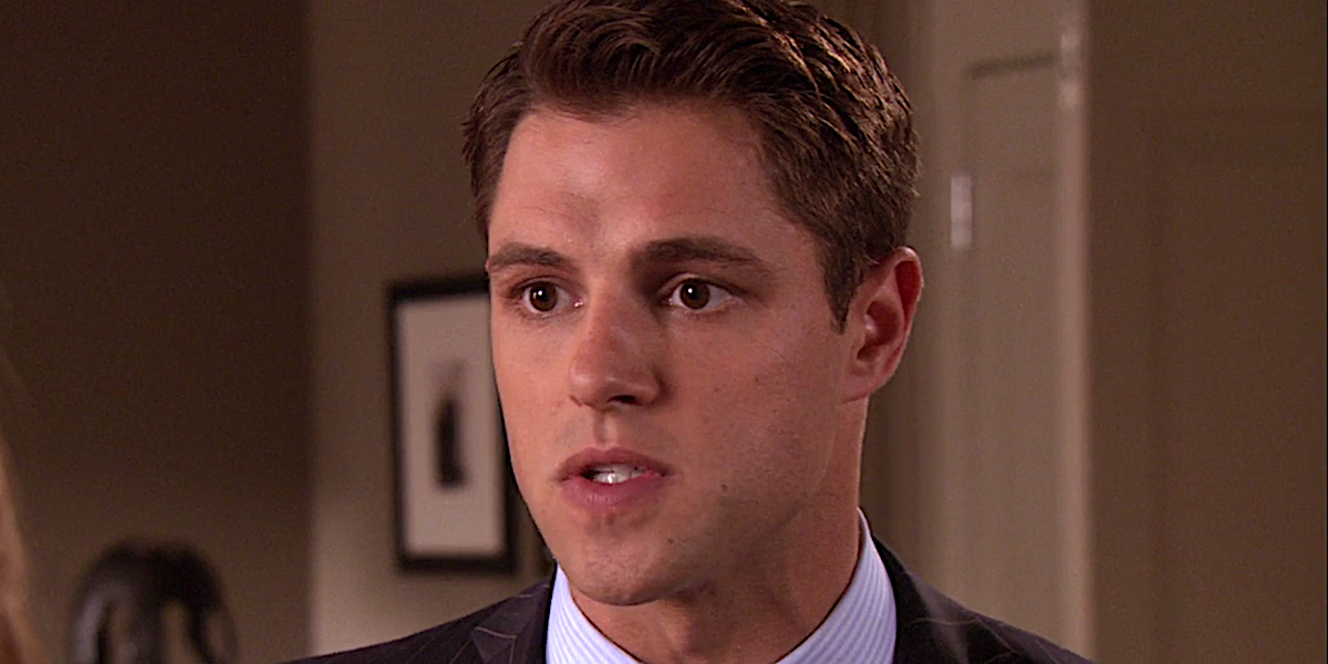 Sam Page as Colin Forrester on Gossip Girl