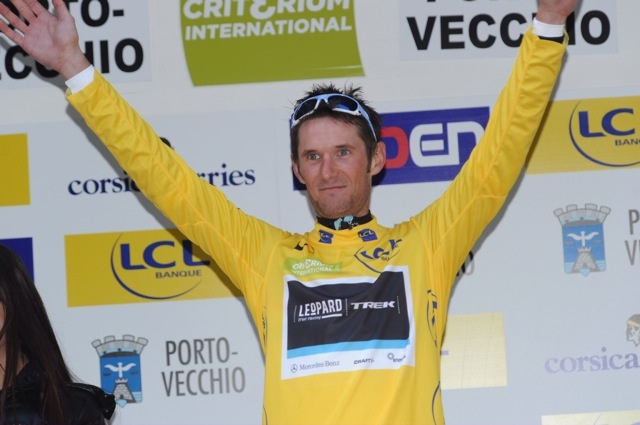 Frank Schleck, Criterium International 2011, stage one
