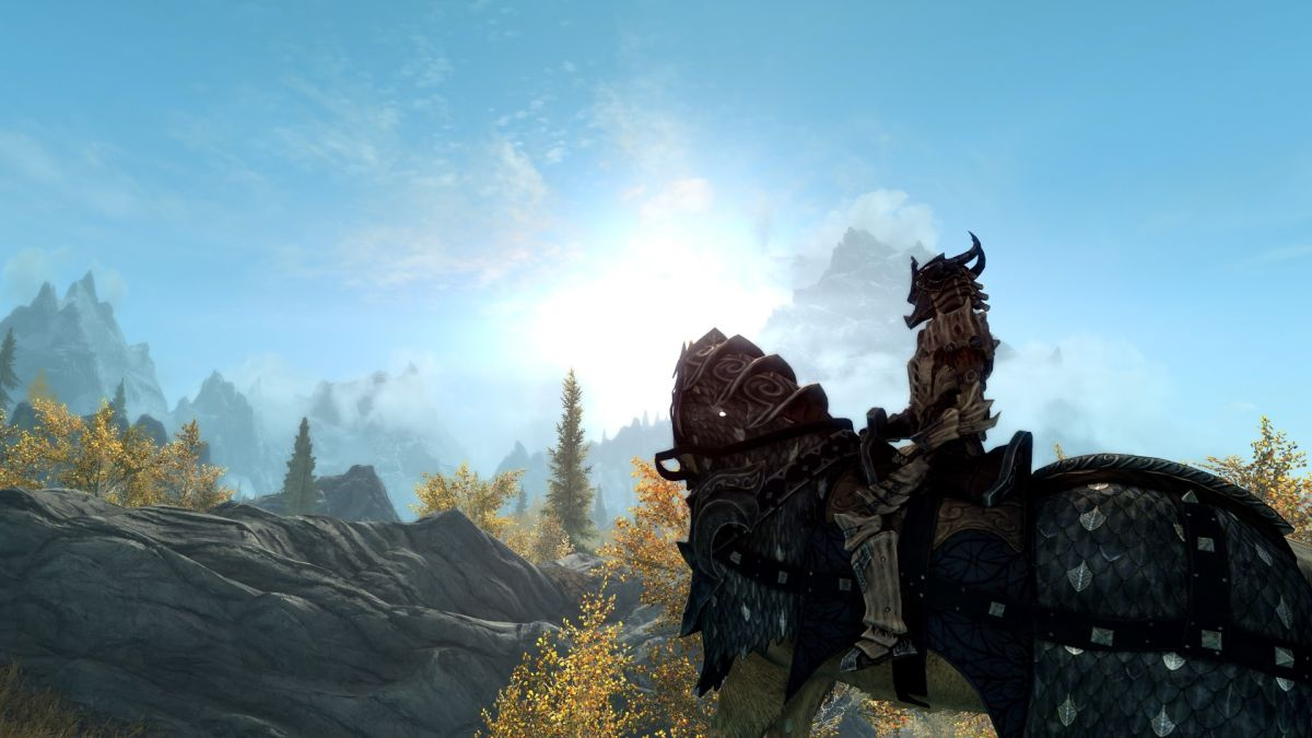 Here's a mod to boost your outdoor framerate in Skyrim Special Edition