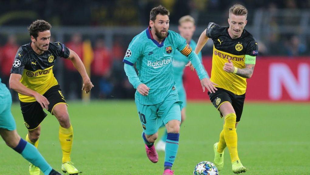 Barcelona Vs Dortmund